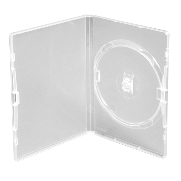 DVD PRÍPAD 14MM AMARAY 1 CLEAR s klipom [44539]