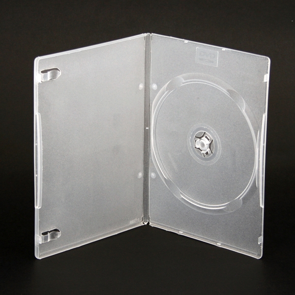 DVD VIDEO BOX 7MM ULTRA SLIM 1 GRADE CLEAR 40163