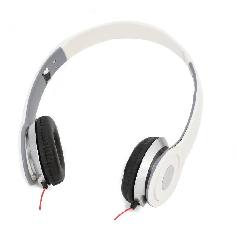 FREESTYLE HI-FI STEREO SLÚCHADLÁ FH4007 MIC AUDIOBEAT WHITE [41866]
