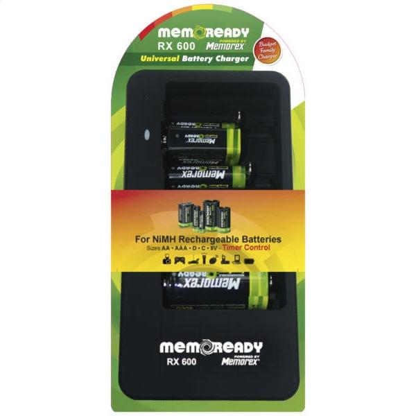 Univerzálna nabíjačka MEMOREX RX 600 A1306
