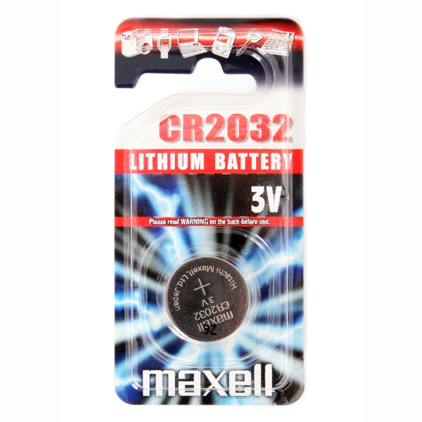 MAXELL BATÉRIA CR2032 BLISTER * 1 10238500