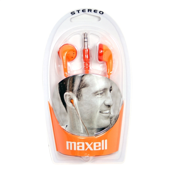 MAXELL SŁUCHAWKI / HEADPHONES EB-98 ORANGE 303500.50.CN