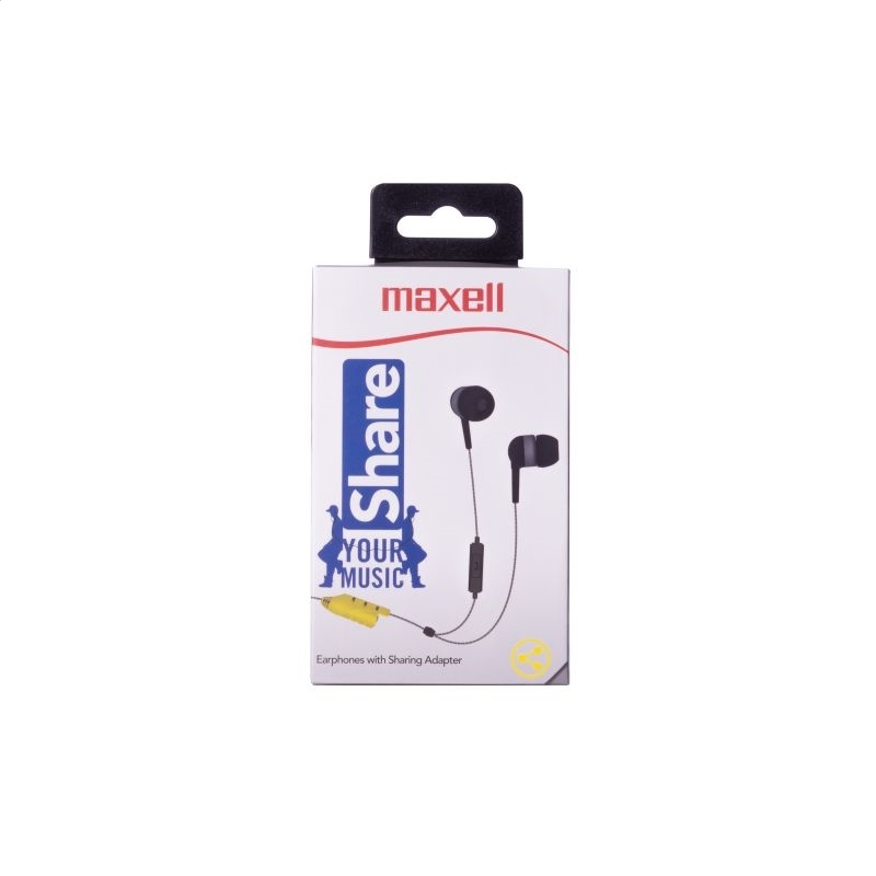 MAXELL EARPHONES EB SHARE GRAY 303990,00.CN