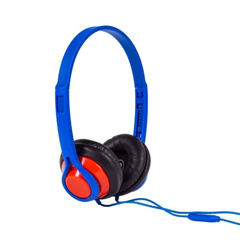 MAXELL HEADPHONES HP-360 MIDSIZE LEGACY MIC BLUE 348111.00.CN
