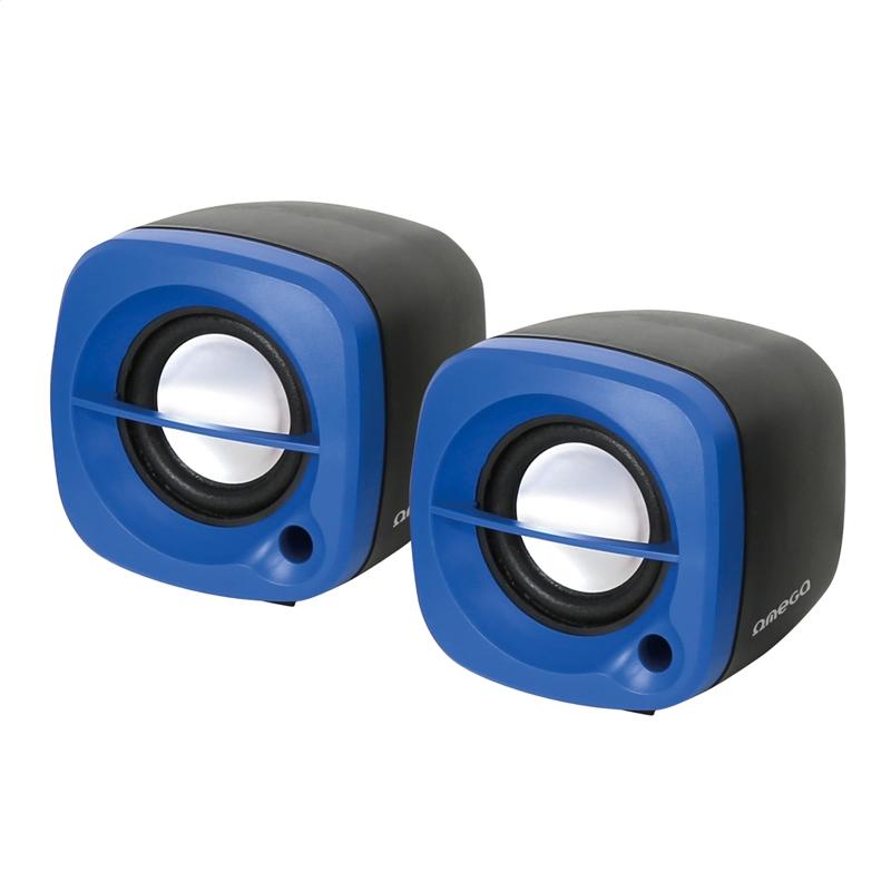 OMEGA REPRODUKTORY 2.0 OG-15 6 W BLUE USB [43041]