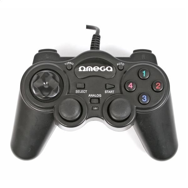 Počítač OMEGA GAME PAD INTERCEPTOR PC USB 41089