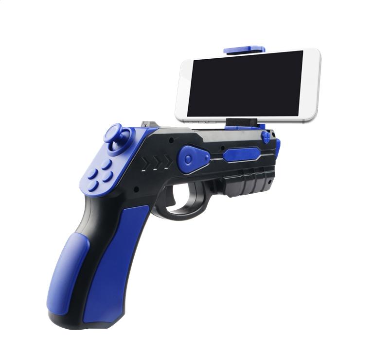 OMEGA REMOTE AUGMENTED REALITY GUN BLASTER BLACK + BLUE [44350]
