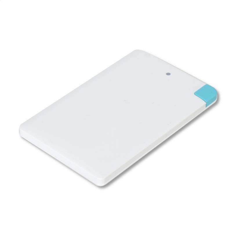 OMEGA POWER BANK 2000mAh LI-PO + kábel microUSB a adaptér blesku [42231]