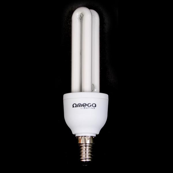 OMEGA ÚSPORA ENERGIE - 2U 11W 2700 K E14 [41176]