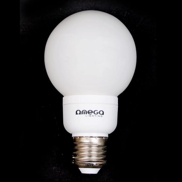OMEGA ENERGY SAVING BULB - Globe 11W 2700K E27 [41186]