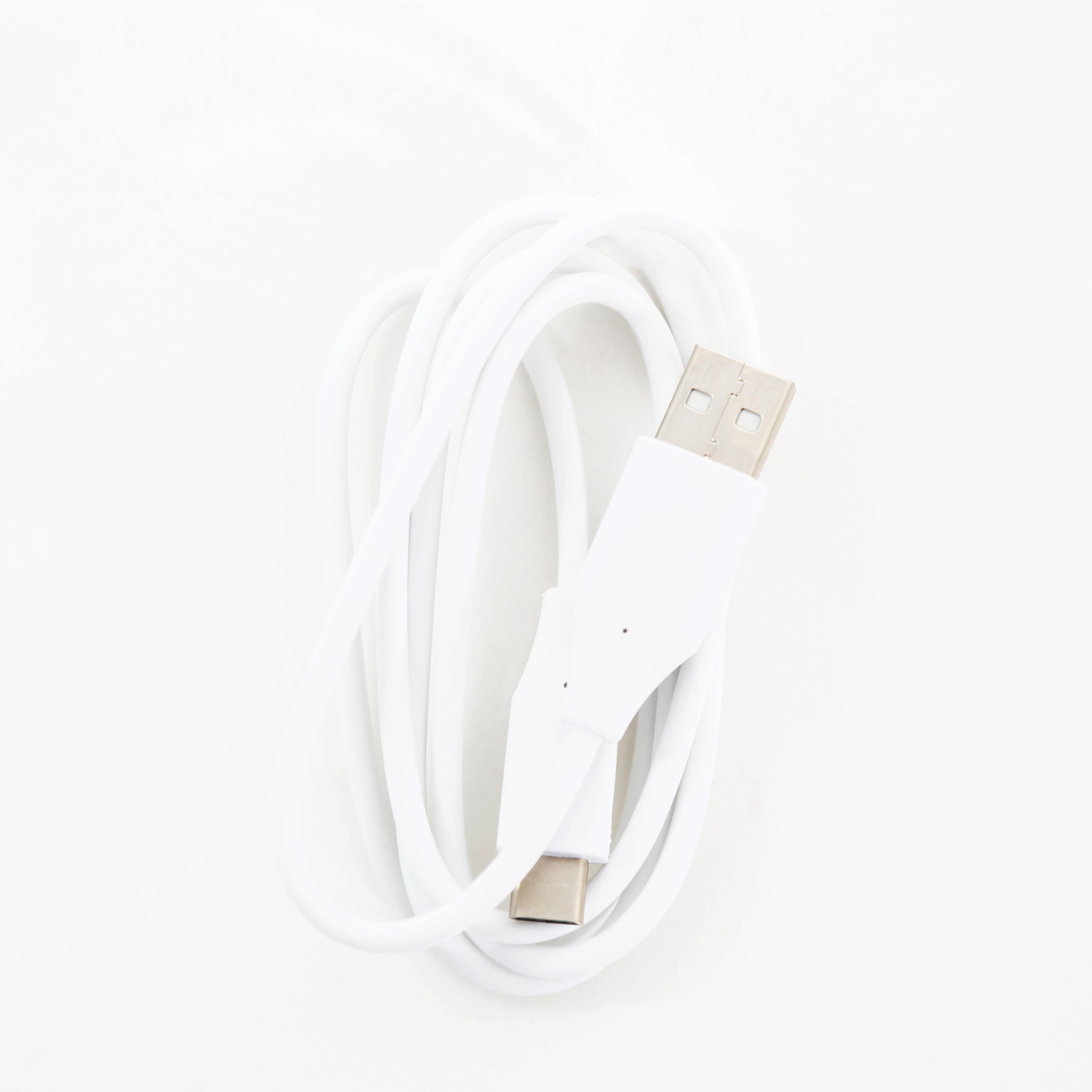 OMEGA PVC TYP-C NA USB A DATA BULK 1M WHITE