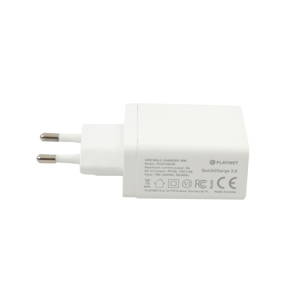 NABÍJAČKA PLATINETU 1x USB Quick Charge 3.0 18W