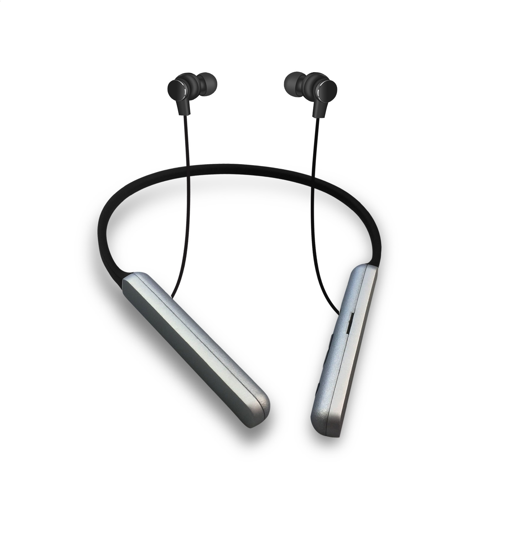 PLATINET IN-EAR BLUETOOTH V4.2 + microSD EARPHONES HOOP + MIC PM1074 ČIERNY [44477]