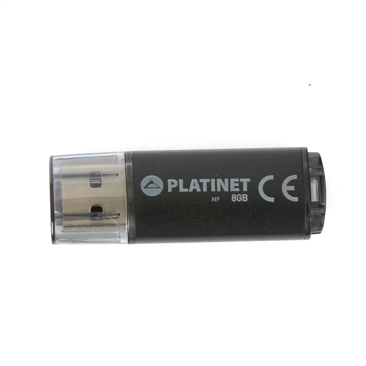PLATINET PENDRIVE USB 2.0 X-Depo 8 GB ČIERNY [40943]