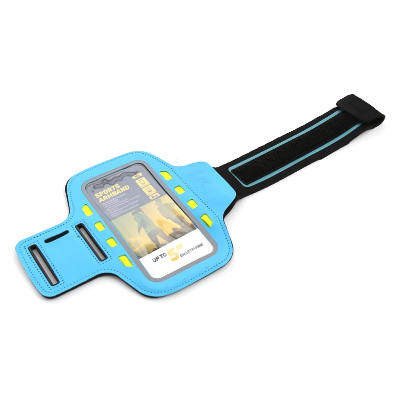 PLATINET SPORT ARMBAND PRE SMARTPHONE BLUE S LED