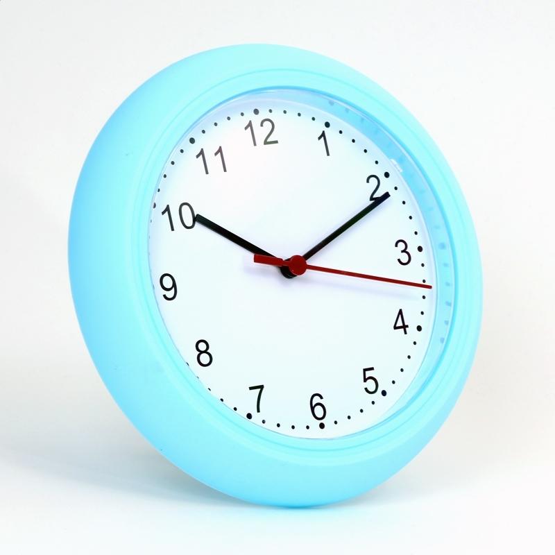 PLATINET ZEGAR WALL CLOCK SUNDAY / BLUE