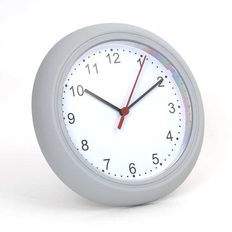 PLATINET ZEGAR WALL CLOCK DOBA / ŠEDÁ