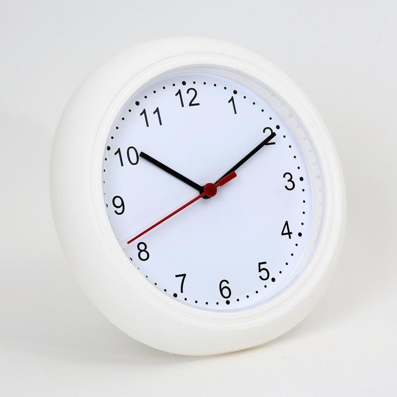 PLATINET ZEGAR WALL CLOCK SUNDAY / WHITE