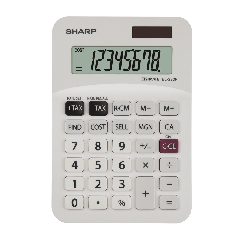 SHARP CALCULATOR DESKTOP BLISTER EL330FB