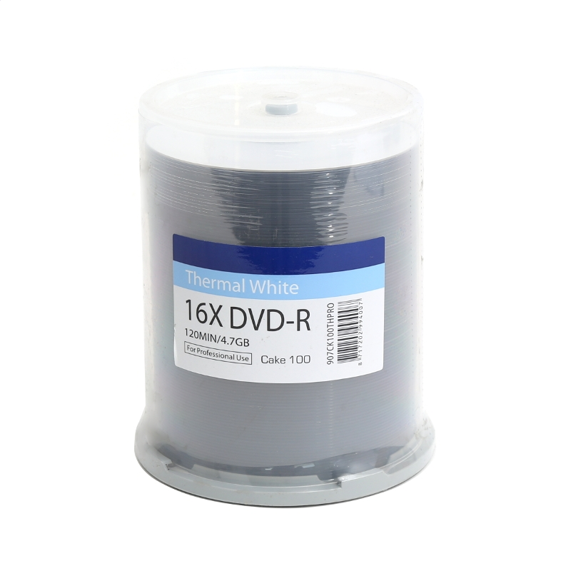 TRAXDATA DVD-R 4,7 GB 16X PRO BIELY TEPELNÁ PRINCÍP C100 907CK100THPRO